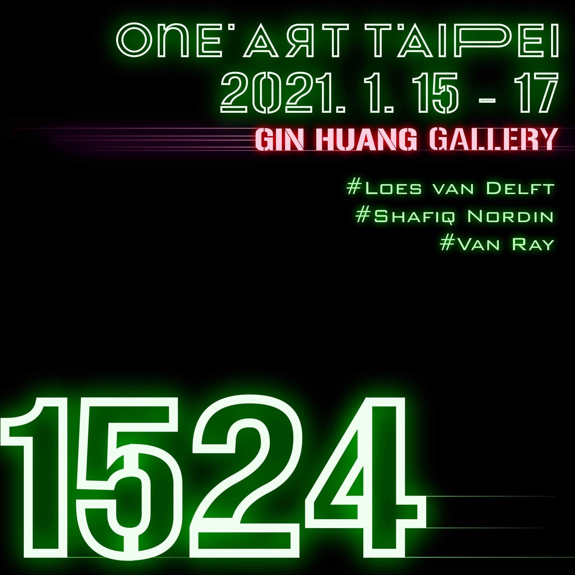 ONE ART Taipei 2021 x GIN HUANG Gallery