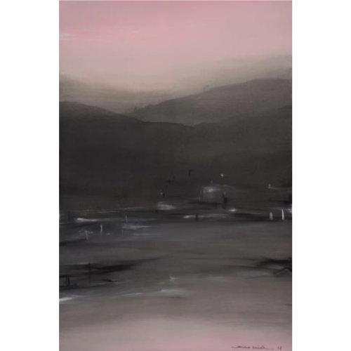 Composition N。5.8.17   2017 195x130cm Acrylic on canvas
