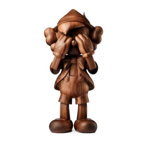Wood Pinocchio 2018 39 x 19 x 18 cm Wood Edition of 100