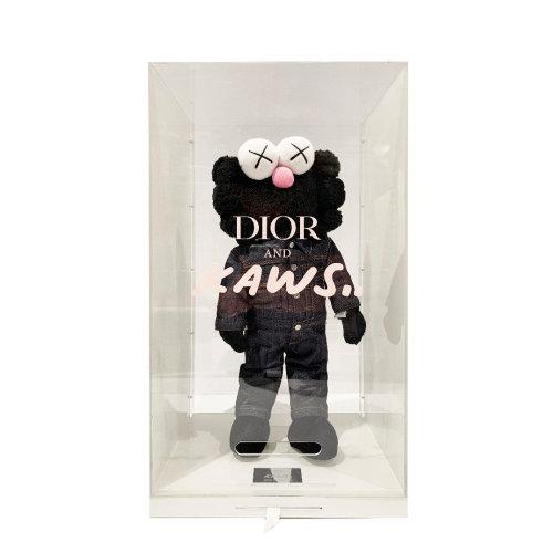 Kaws BFF Dior Plush Black 2018 45.7 cm Plush Edition of 500