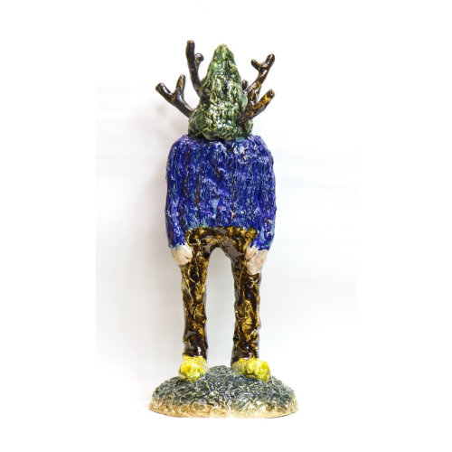 Compost 46  2019 H39 x D14 x W16 cm Ceramic and lacquer