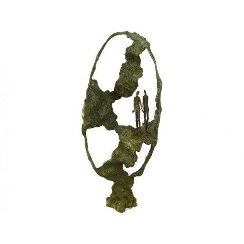 The Tree of Seduction   L 28 x D 16 x H 63 2014 Bronze