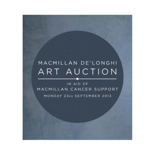 MACMILLAN DELONGHI ART AUCTION