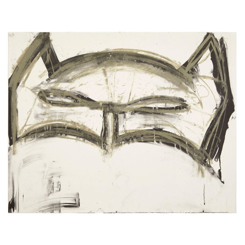 Margate Batman   2019 76 x 60 cm 2 colour lithograph on Somerset Tub Sized Satin White 410gsm Edition of 125