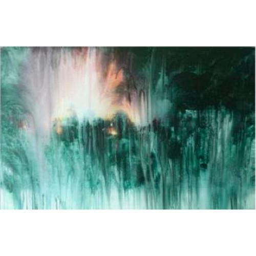 Flood -5 2010 110 x 170 cm Mixed medias on canvas