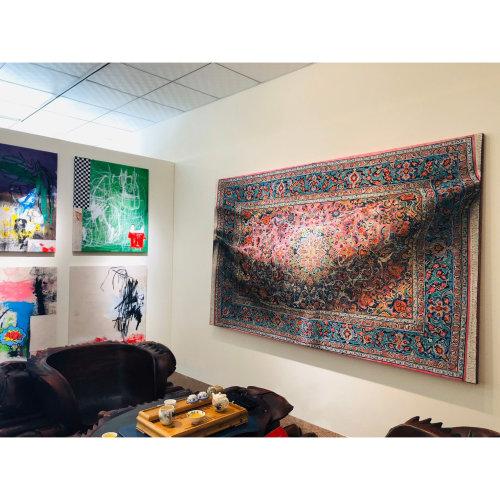 Corona   2015 150 cm x 250 cm Oil on Canvas