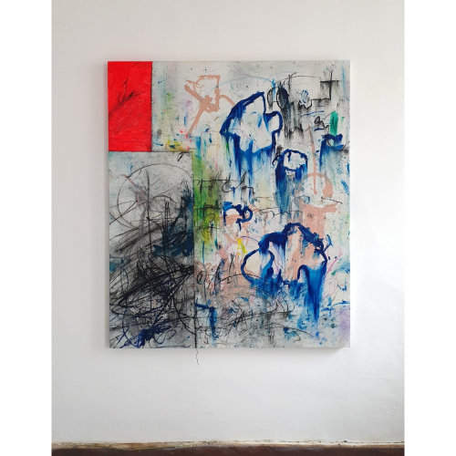 Child049 Untitled  2021,  Oil on Canvas,  160 x 190 cm