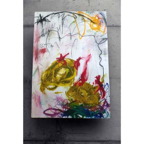 Child044 Untitled  2021,  Oil on Canvas,  180 x 130 cm
