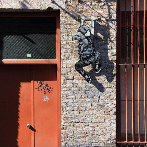 'Maddox & Jack's Escape' in Franklin Alley