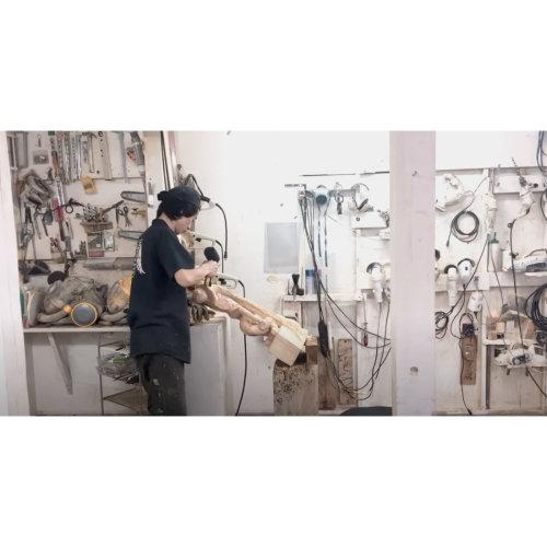 アートにエールを!【美術】  Hideki Iinuma working process