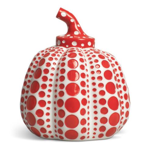Kusama Pumpkins Red 2015 9.5 x 8 x 8 cm Resin