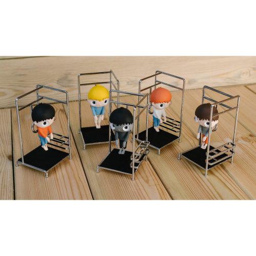 Little Maurizio figurine  2020 PVC, Crystal, Alloy, Stainless Steel, EVA H:8 cm Ed. of 3000