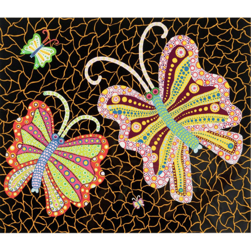 YAYOI KUSAMA  Butterflies  1989  53.4 x 60.8 cm  Screenprint on paper Edition of 100