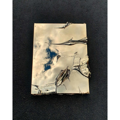Just Gold   Colour: Gold 61 x 46 x 7cm  Sterling Silver, Aluminium, Polyester