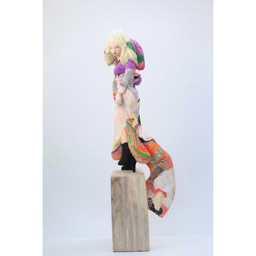 Yumoji  2019 Wood - Nettle H83 x W22 x D25 cm