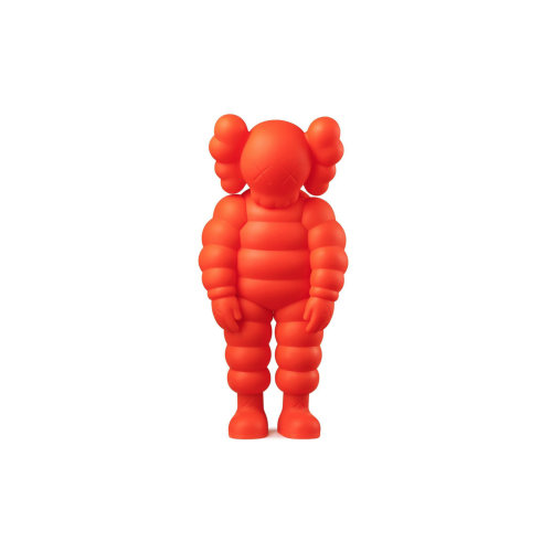 WHAT PARTY Orange  2020 Vinyl 28.9 x 13 x 9.5 cm