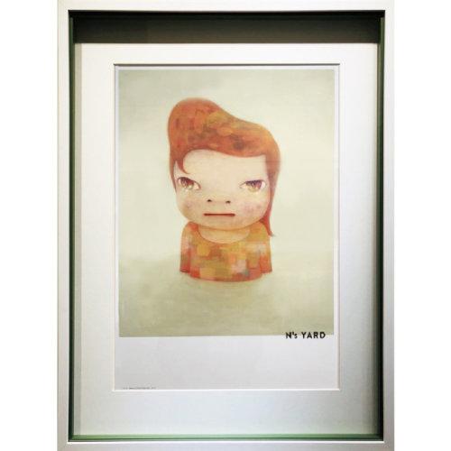 Blankey 2018 74.5 x 57 cm Frame poster