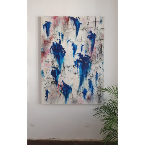 Child046 Untitled  2021,  Oil on Canvas,  180 x 130 cm