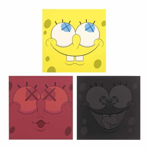 Sponge Bob 2010 50.8 x 50.8 cm Silkscreen on paper Edition of 100