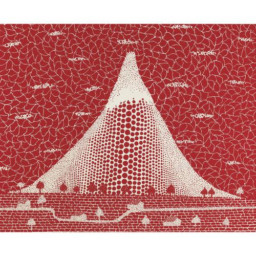 Mt. Fuji  1983 49 x 60 cm Screenprint Edition of 75