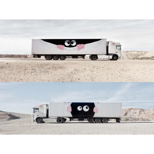 art truck Javier Calleja