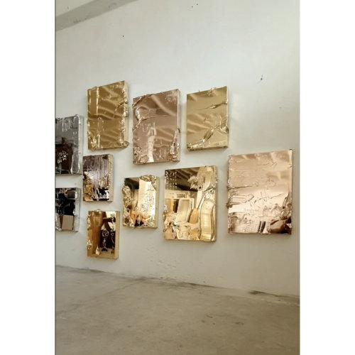 Igor Dobrowolski's artworks in studio