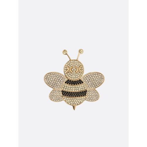 Dior x Kaws bee pin 2019 4 cm x 4 cm Brass / Crystal Limited Edition