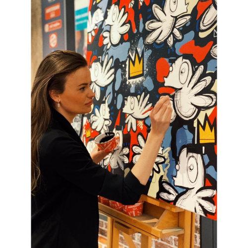 Loes van Delft creating process