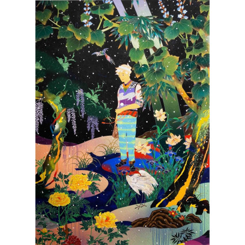 TOMOKAZU MATSUYAMA  Falling Passage  2016 48 x 33 cm Digital print on archival Canson Mi-Teintes paper Edition of 250
