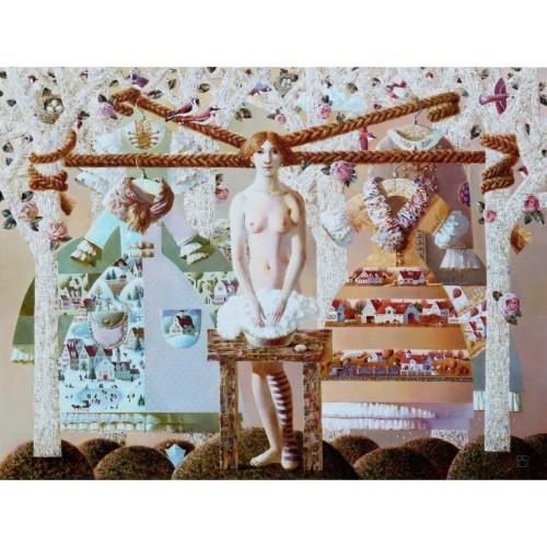Four Seasons 2014 120 cm x 160 cm Oil on Canvas