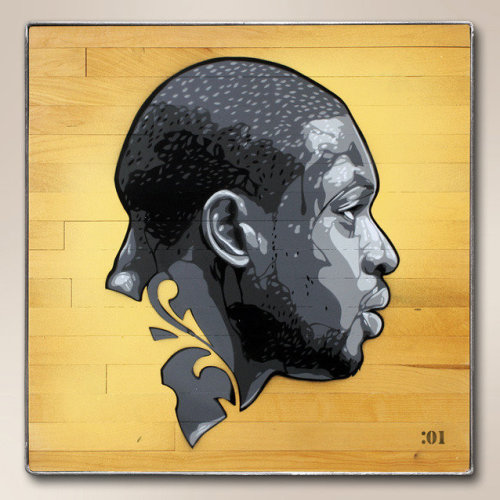 'Dwyane Wade' -  2011 for the NBA and Art of Basketball