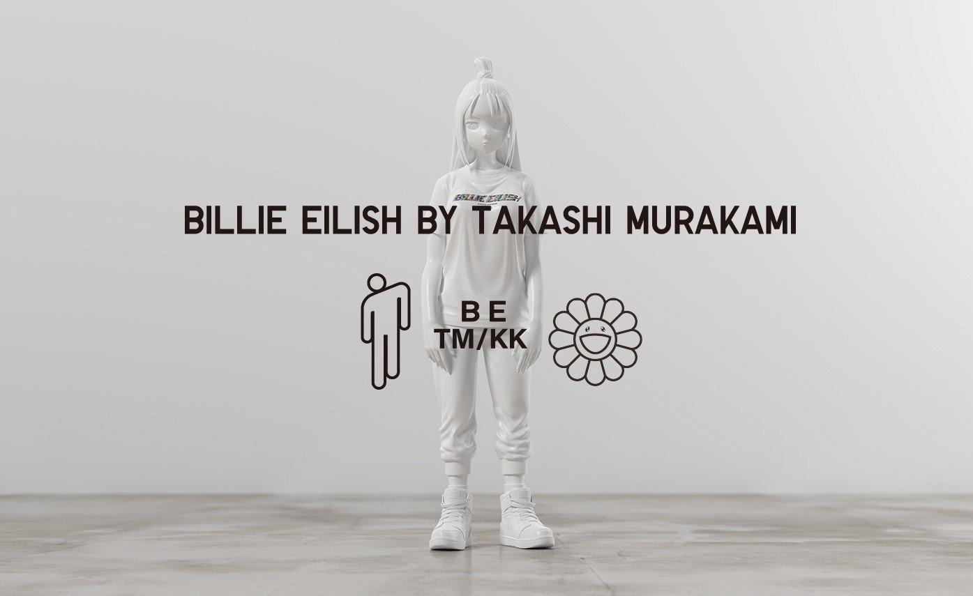 UNIQLO UT has miraculously made a collaboration with Japanese contemporary artist Takashi Murakami and musician Billie Eilish.