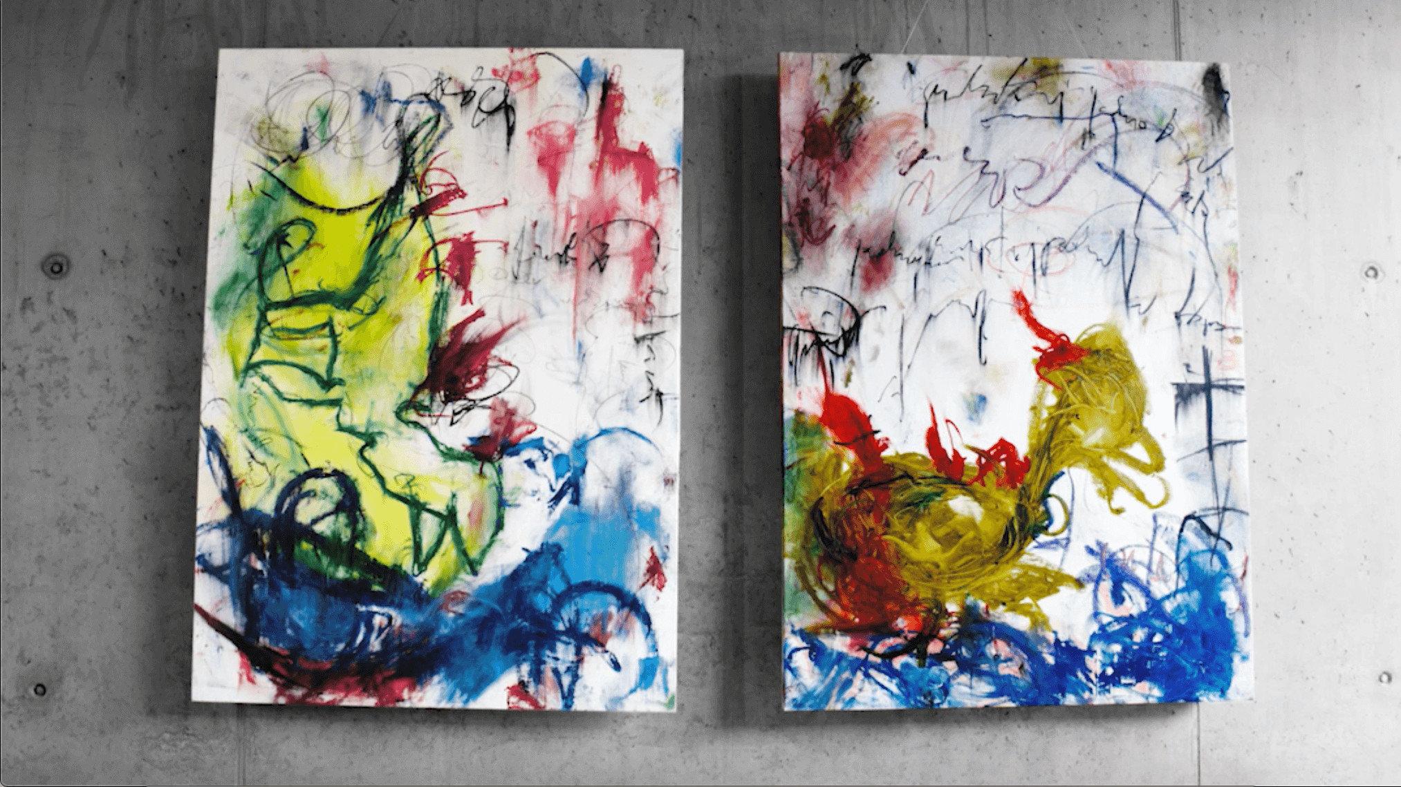 Inner Child Painting by Igor Dobrowolski