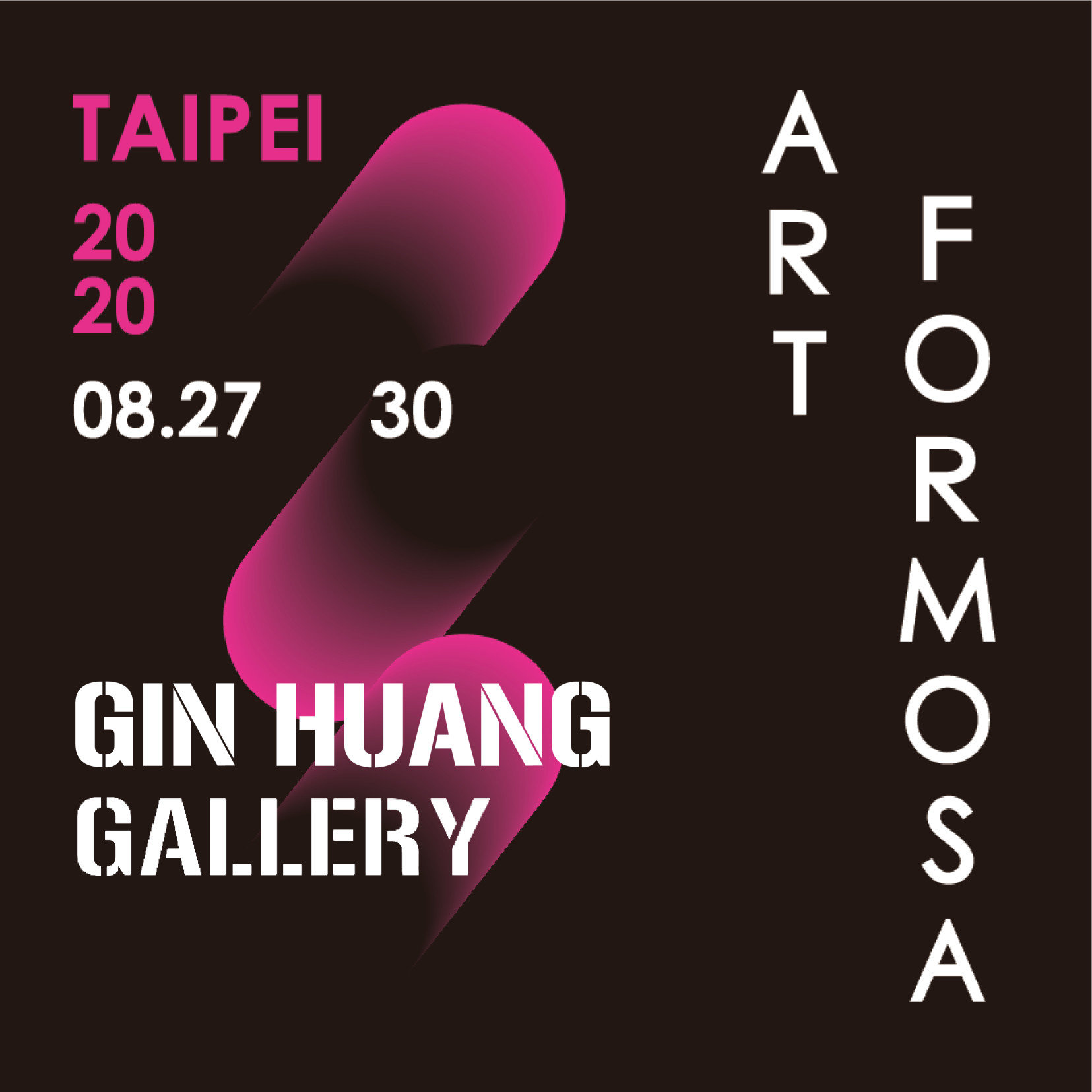 GIN HUANG Gallery are going to participate Art Formosa 2020