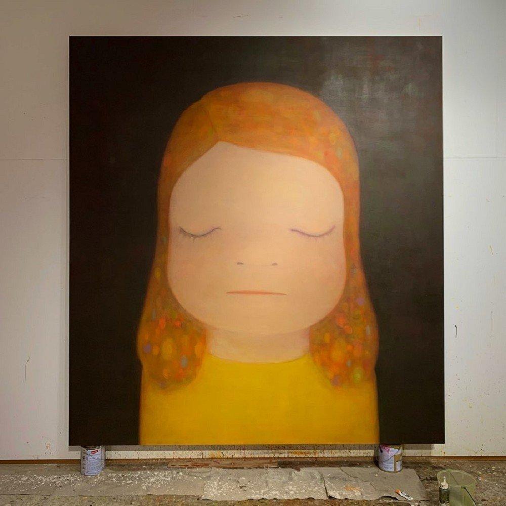 Yoshitomo NaraMiss Moonlight2020Acrylic on canvas220 x 195 cm