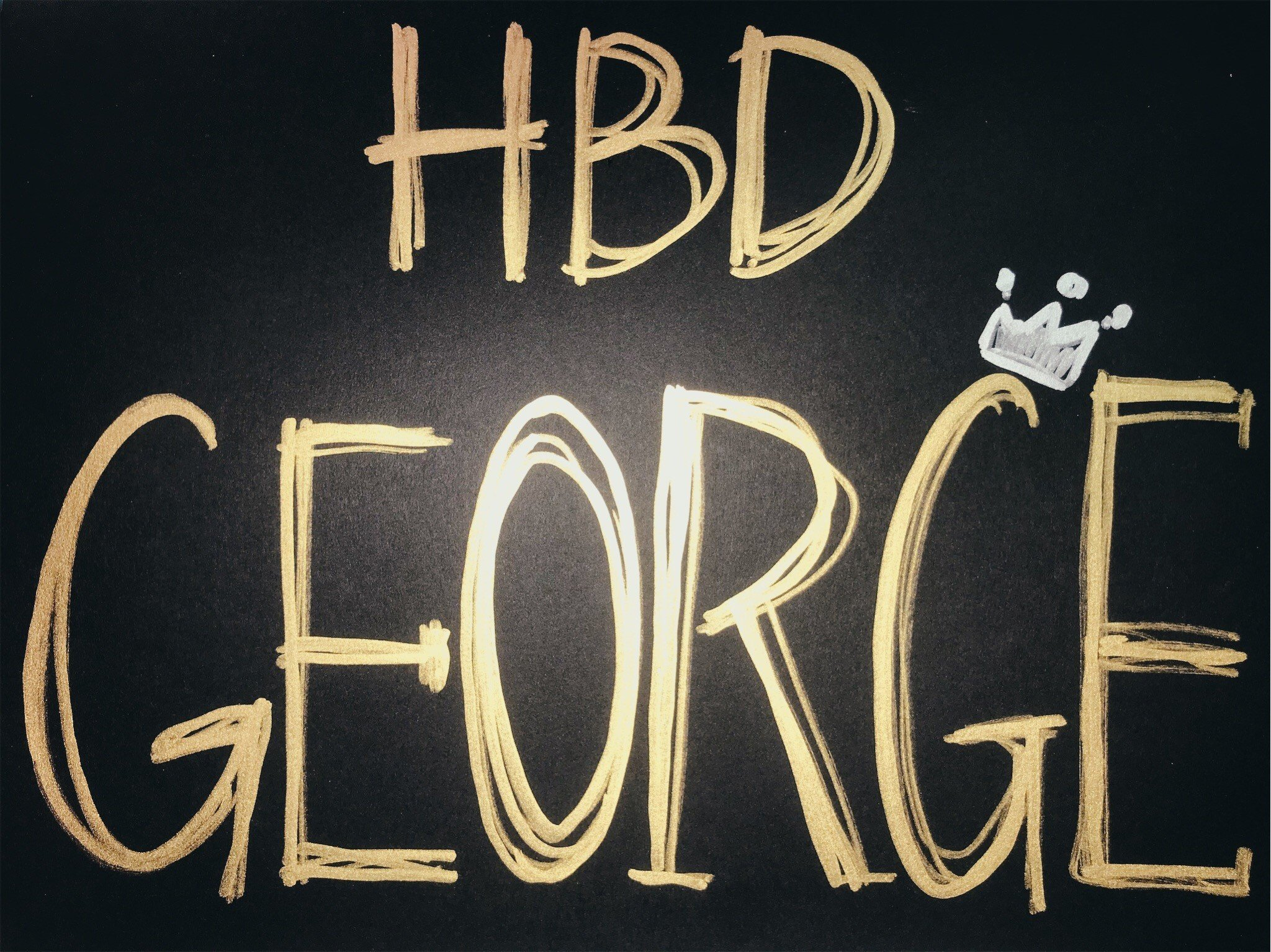 喬治・莫頓-克拉克 生日快樂
