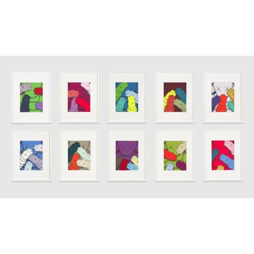 Press|KAWS release 250 edition new works 'KAWS URGE'