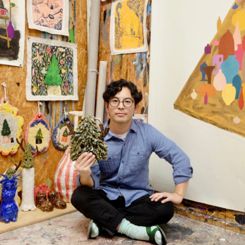 Bijutsutecho|Yuichi Hirako Exclusive Interview - The relationship between plants and humans