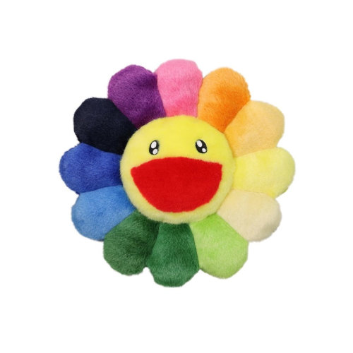 村上隆|Flower Cusion / Rainbow (30cm)