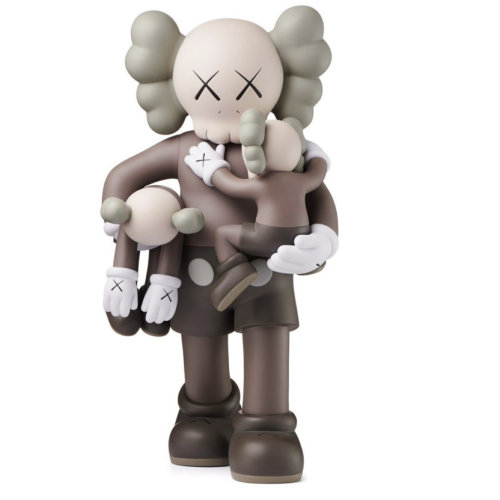 KAWS|Clean Slate Brown
