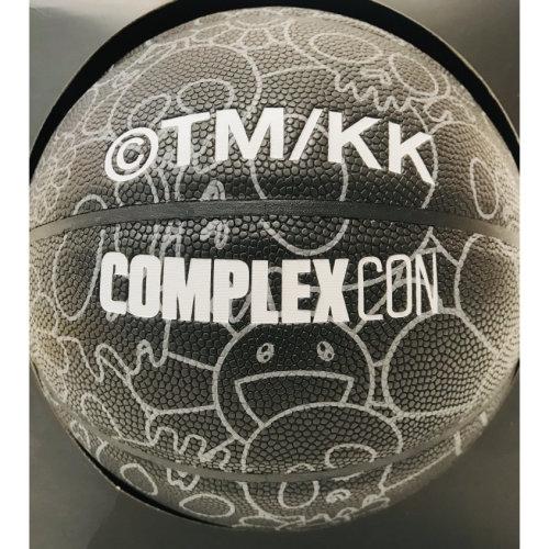 村上隆 x ComplexCon|芝加哥2019 骷髏與花黑色籃球