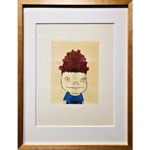 Yoshitomo Nara|Self-portrait Framed Poster