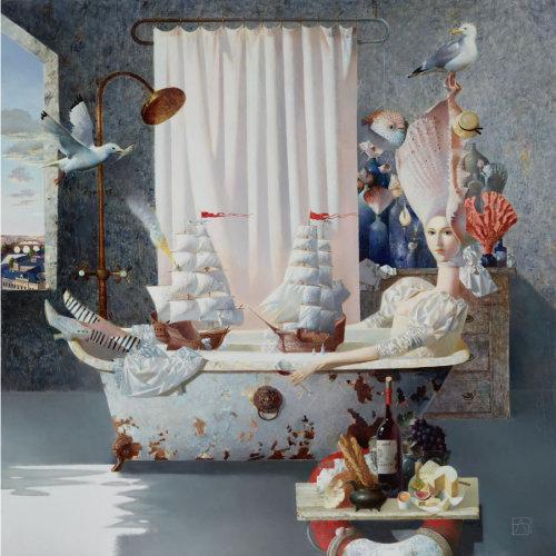 Anna Berezovskayai|Sea Battle with frame