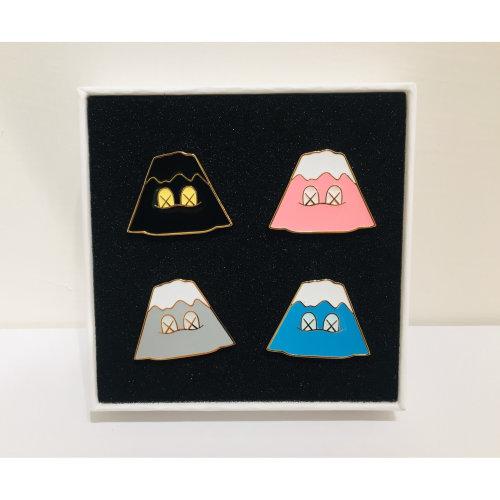 KAWS|Holiday Japan Mount Fuji Pin Set(Set Of 4)