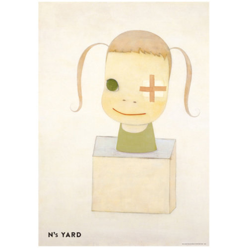Yoshitomo Nara|N's YARD poster Sorry Couldn't Draw the Left Eye