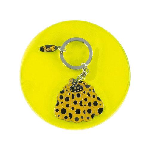草間彌生|黃南瓜鑰匙圈