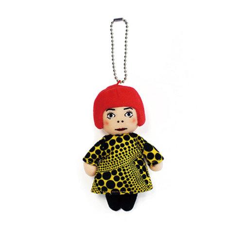 Yayoi Kusama|YAYOI CHAN Plush (Soft Toy)  Mascot