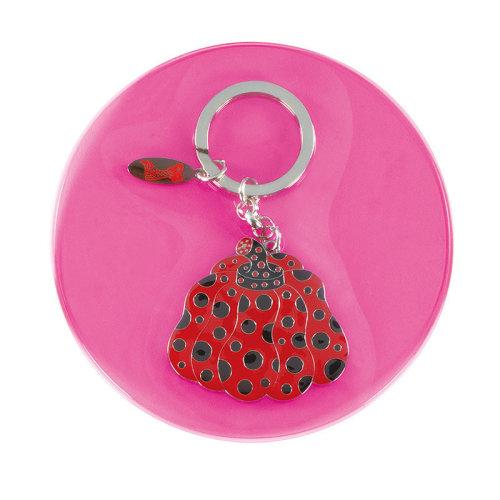 草間彌生|紅南瓜鑰匙圈
