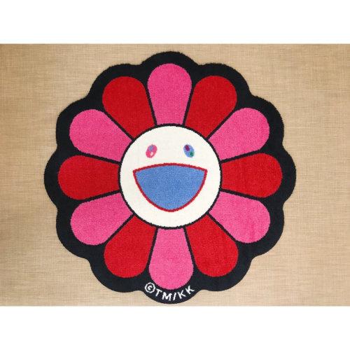 Takashi Murakami|Flower Floor Mat(Pink)