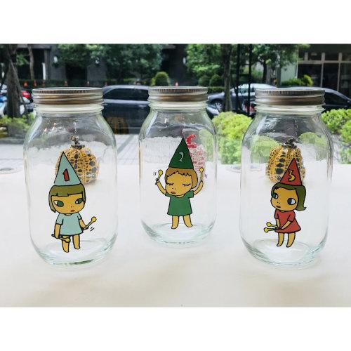 Yoshitomo Nara Glass Storage